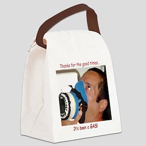 itsagas[6x4_card] Canvas Lunch Bag